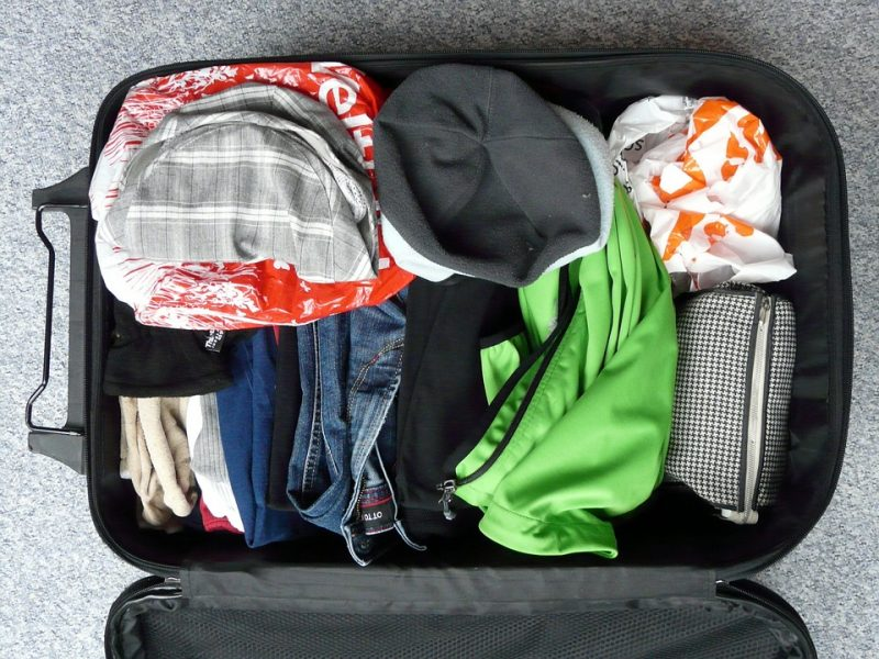 Organizzare la valigia